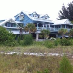 Eines der vielen Häuser Old Florida Style.