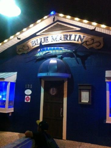 """""""Blue Marlin Grill"""" – Vielleicht das beste Restaurant. Auf der Insel gibt es kein Restaurant einer Kette!!!"""