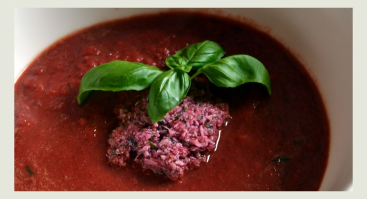 Rote Beete Suppe Karfreitag