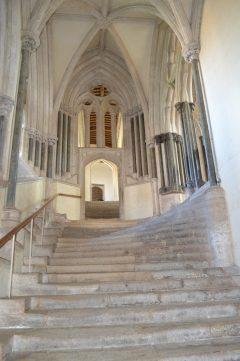 Treppenaufgang zum Mönchsbereich und dem Octagon