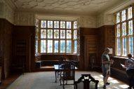 Der Leseraum mit drei Fenstern zu allen Seiten (die linke Seite ist allerdings hier nicht zusehen).