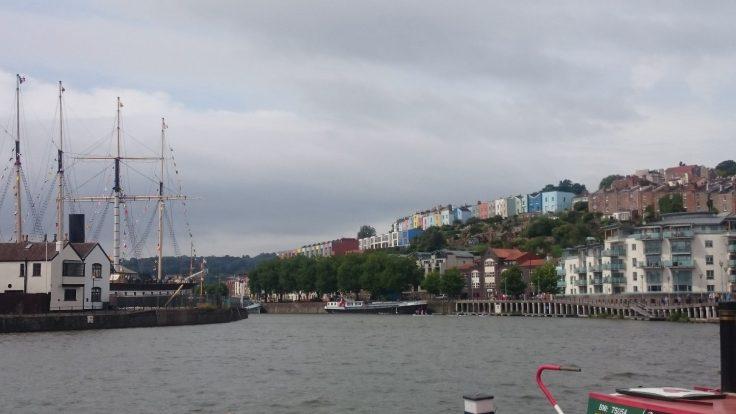 Bristol Hafenfront