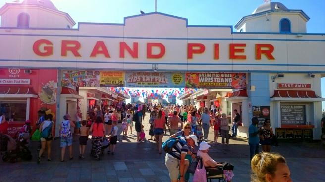 Eingang zur Spielhölle auf dem Grand Pier