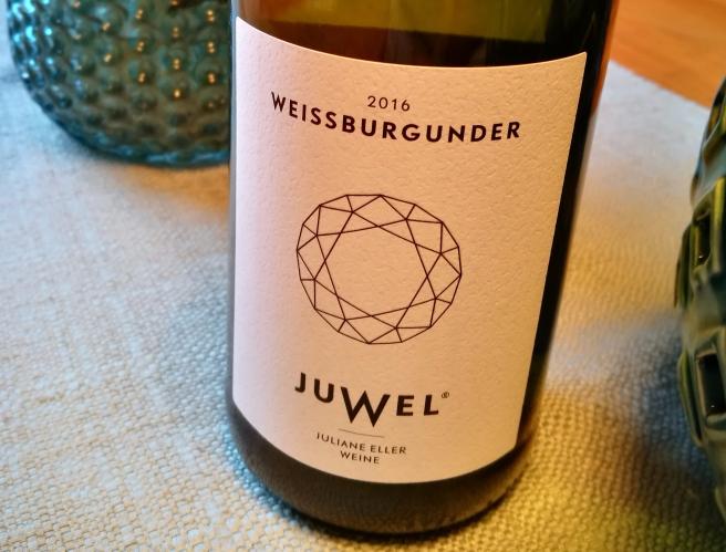 Weissburgunder Juwel Wein